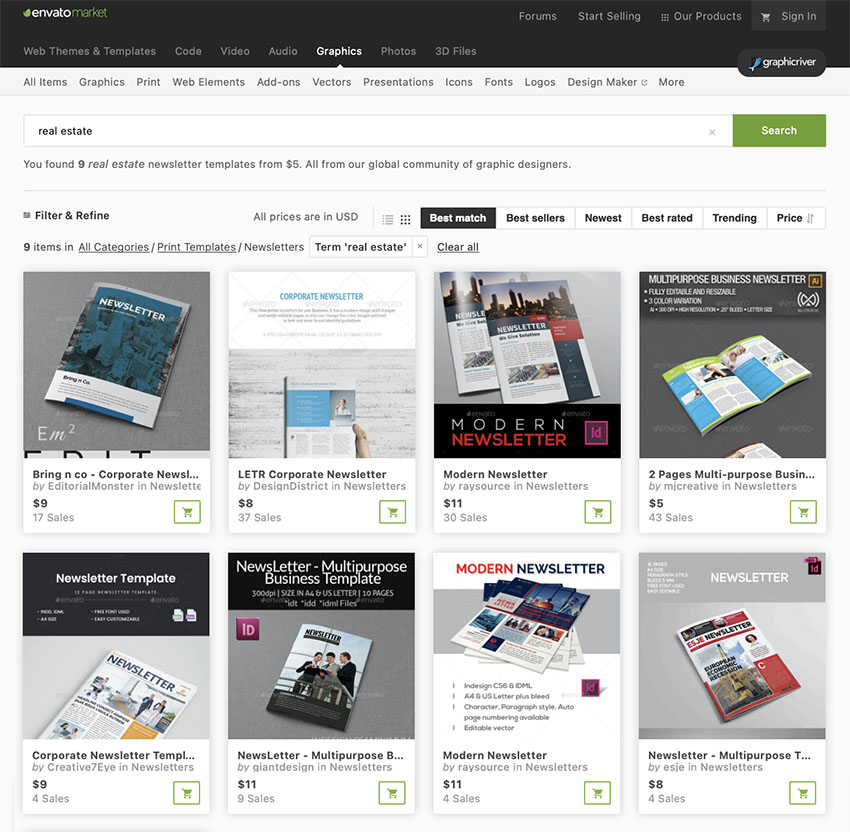 More Premium Real Estate Newsletters From GraphicRiver