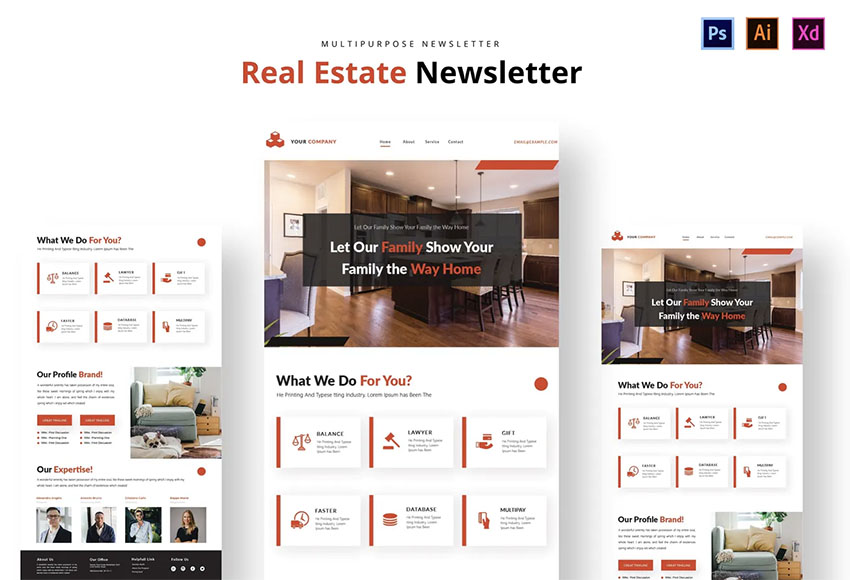 Real Estate Monthly Newsletter