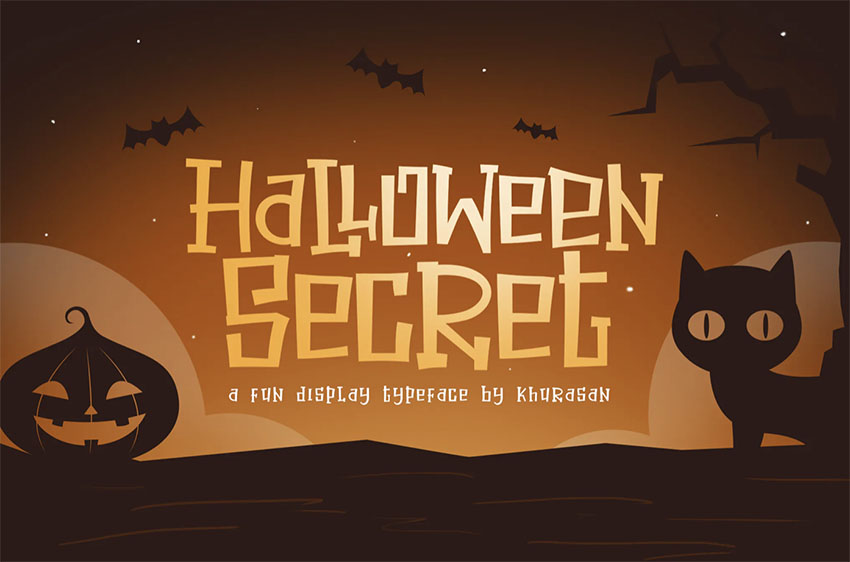Spooky Writing Font