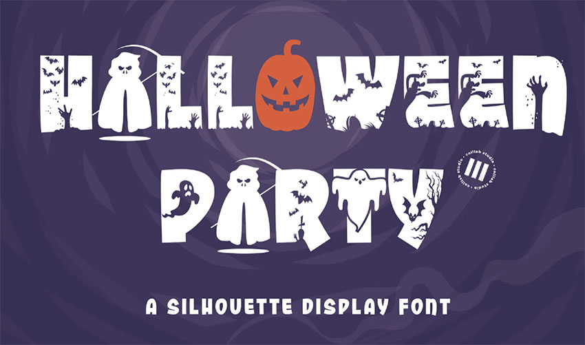 Cute Halloween Font