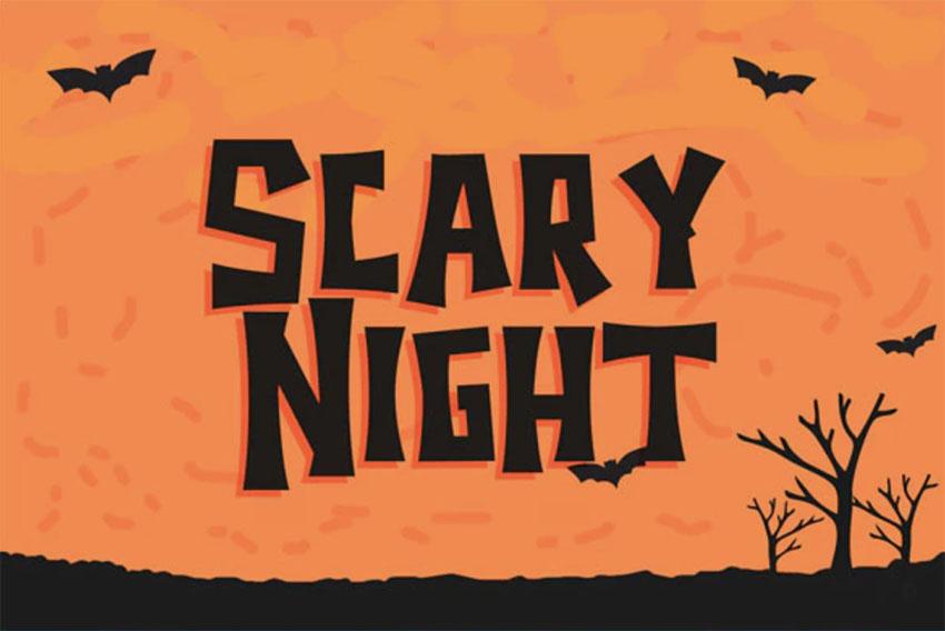 Cricut Halloween Font