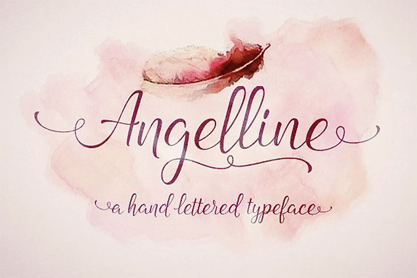 Angelline Old Style Handwriting Font