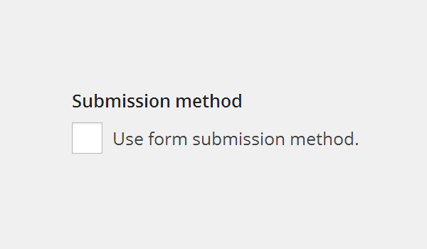 Submission method