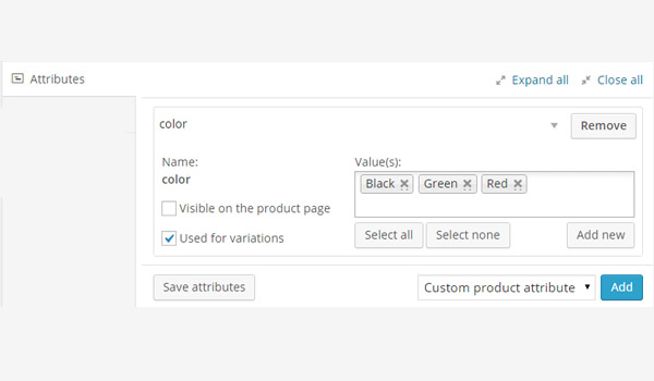 The Beginners Guide to WooCommerce: Adding a Variable Product