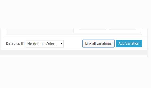 Link all variations option