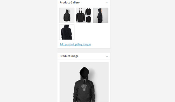Product gallery images