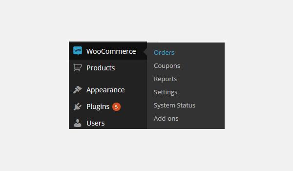 WooCommerce Orders