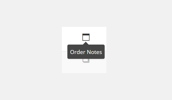 Order Notes icon