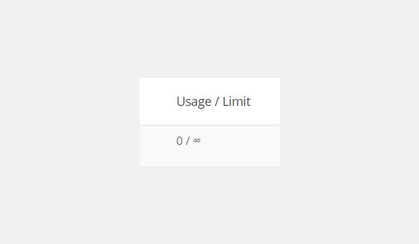 Usage  Limit