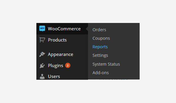 Reports in WooCommerce