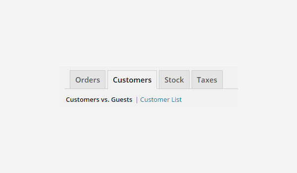 Customers reports WooCommerce