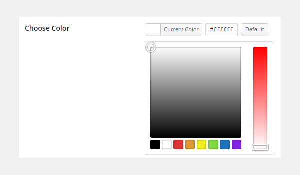 Adding Color Type Options in Titan