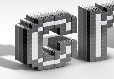 Preview for How to Create a Lego Inspired Text Effect in Adobe Photoshop