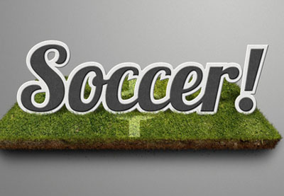 Preview for Create a Soccer-Themed Text Effect in Photoshop
