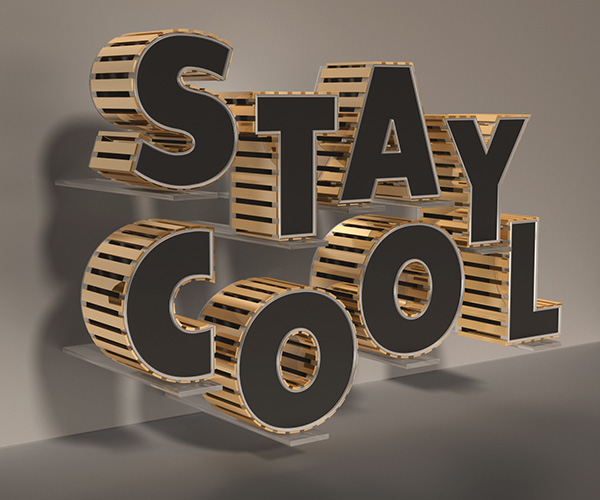 20 design tutorial how to create a stylish black and gold 3d text effect in 20