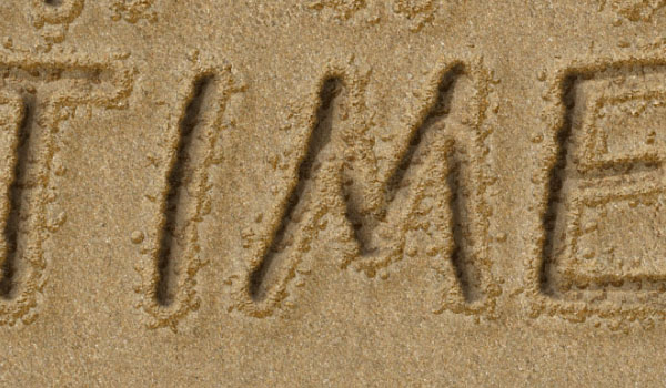 How To Write In The Sand In Adobe Photoshop