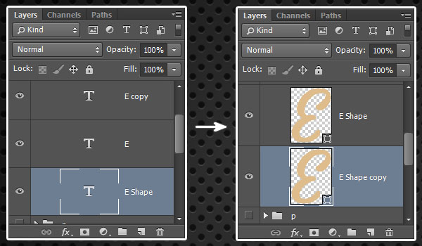 Converting to Shape Layers
