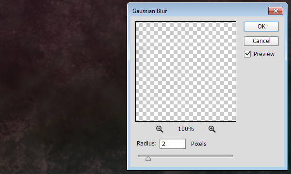 Grunge Brush Gaussian Blur