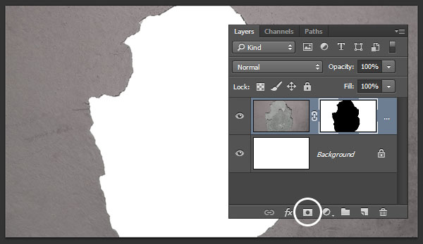Add a layer mask