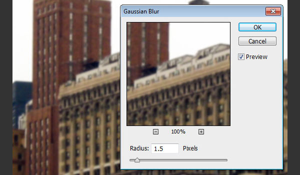 Gaussian Blur the Texture