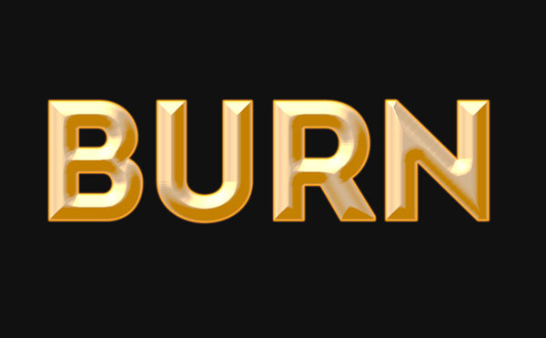 Create a Fire and Rust Text Effect Using the Flame Filter in