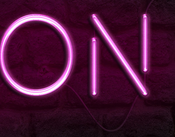 How to create a realistic neon light text effect in adobe photoshop the styled cable thecheapjerseys