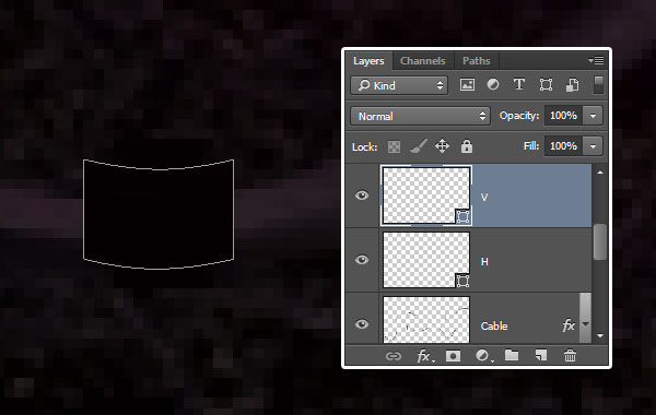 Duplicate and Rename Rectangle Layers