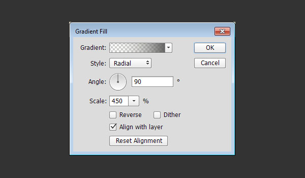 Gradient Fill Options