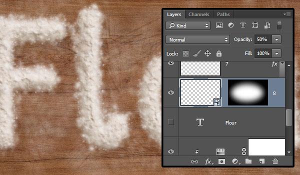 Feather Flour Edges