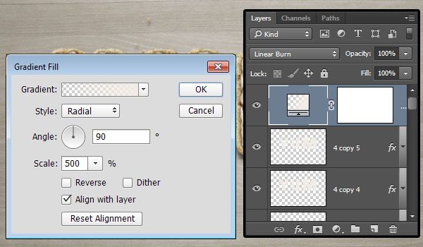 Gradient Adjustment Layer