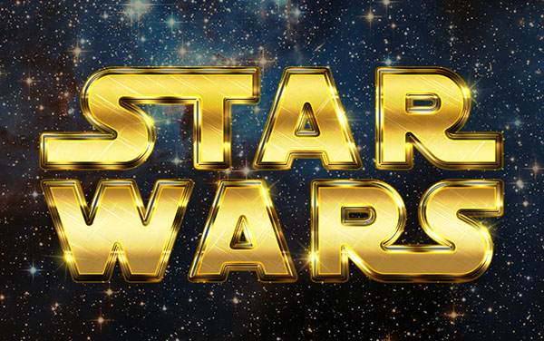 create a retro star wars inspired text effect in adobe