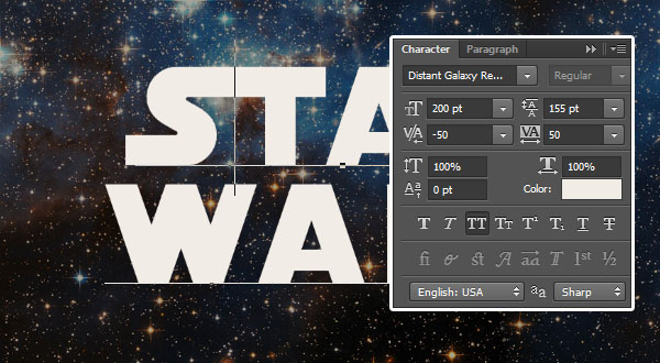 Adjusting the Kerning Values