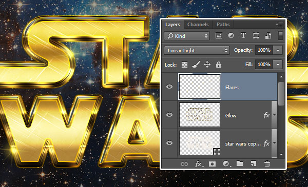 how to create star wars text effect in illustrator