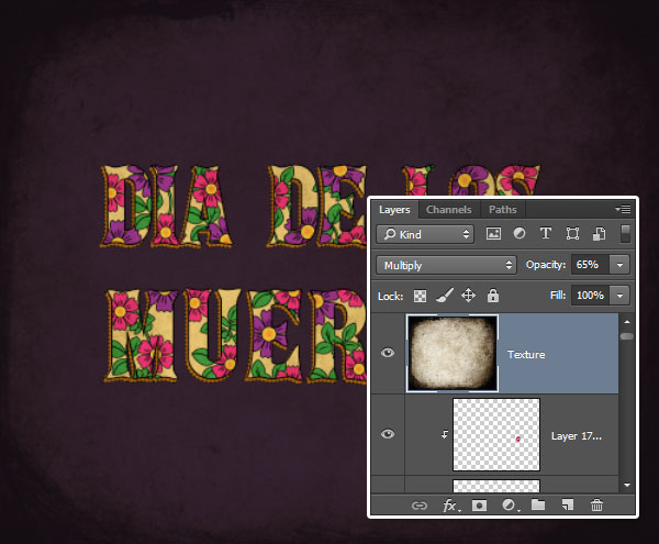 How to Create a Day of the Dead Inspired Text Effect in Adobe Photoshop