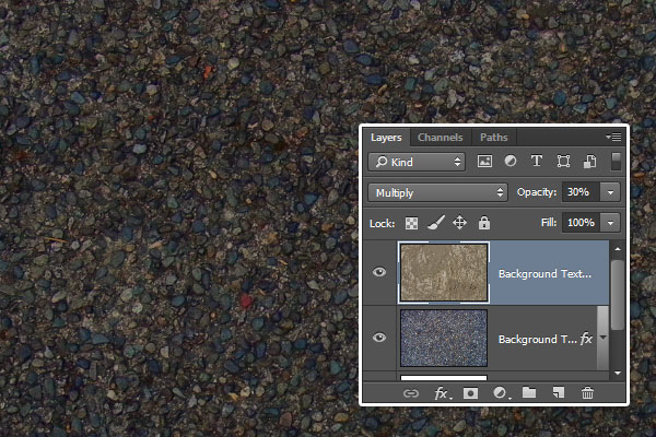 Background Texture Overlay Settings