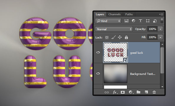 Convert the 3D Layer into a Smart Object