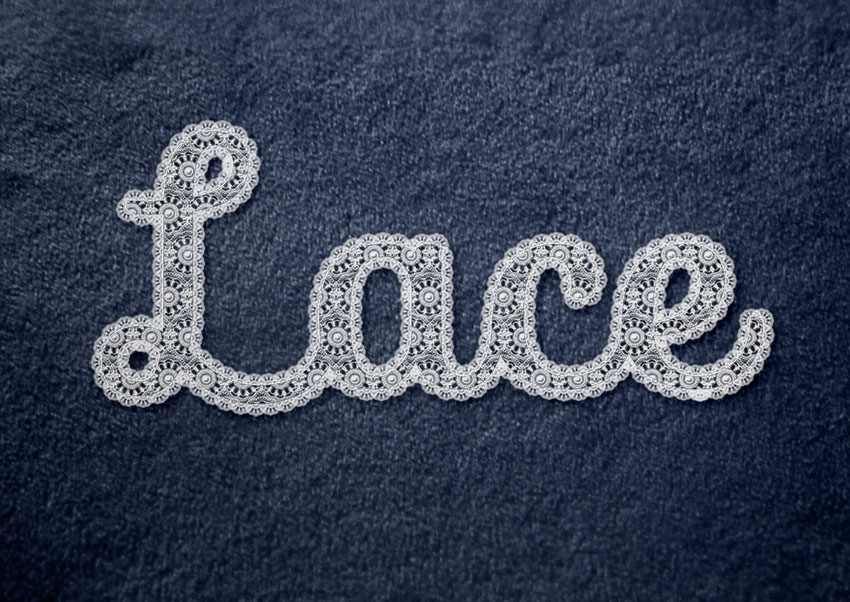 How to Create a Realistic Lace Text Effect in Adobe Photoshop