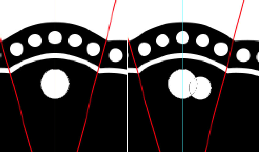 Create the Overlapping Ellipses