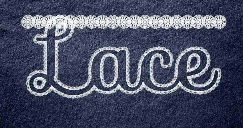 Create a Lace Line