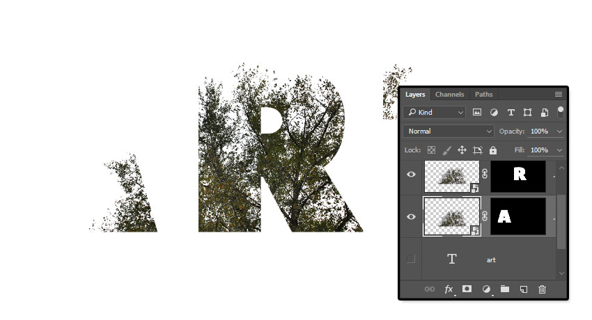 How to Create a Double Exposure Inspired Text Effect in ...