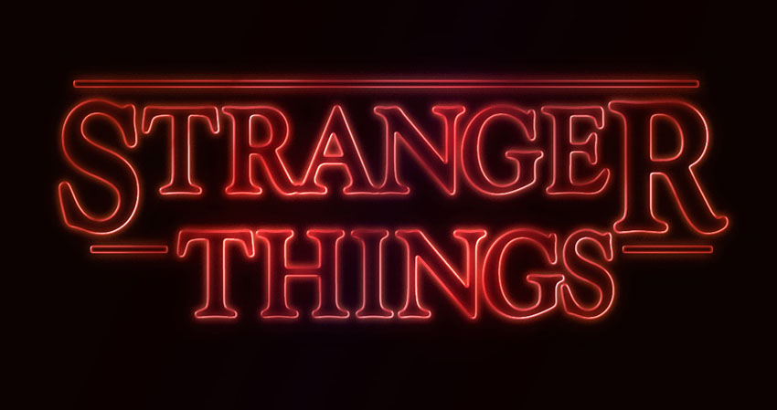 How to Create a 'Stranger Things' Inspired Text Effect in Adobe