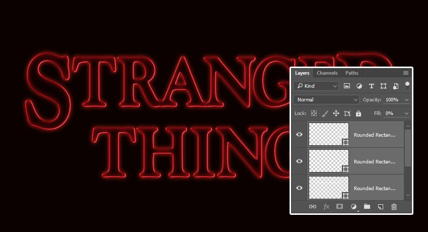 How to Create a 'Stranger Things' Inspired Text Effect in Adobe Photoshop