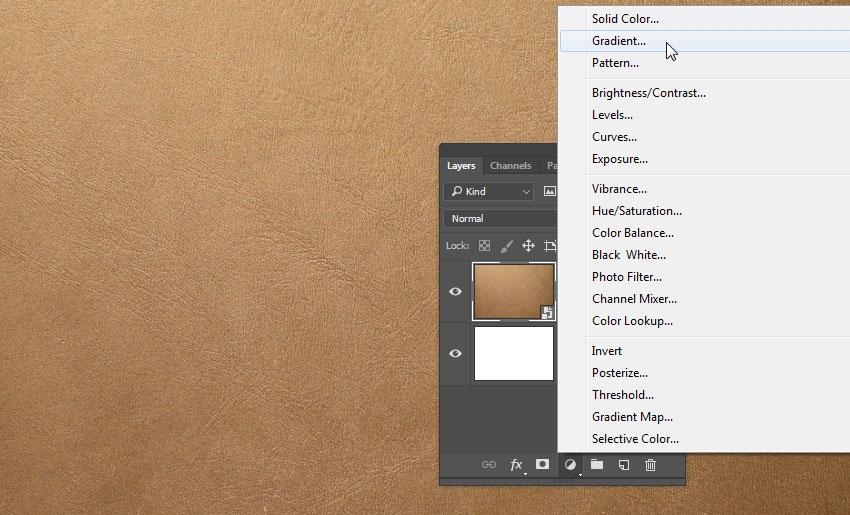 Add a Gradient Layer