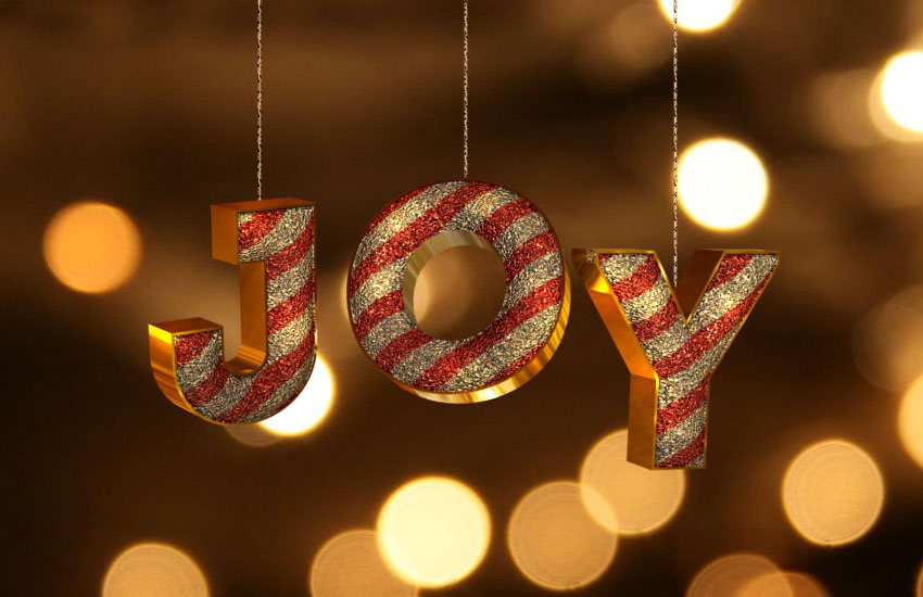 How to Create a 3D Ornament Inspired Text Effect in Adobe Photoshop