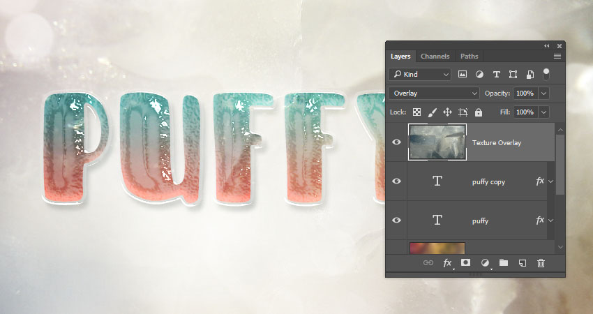 How to Create a Glossy, Puffy Text Effect in Adobe Photoshop