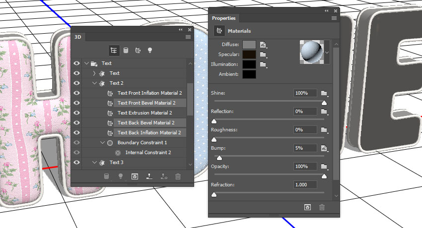 Replace Texture and Edit UV Properties