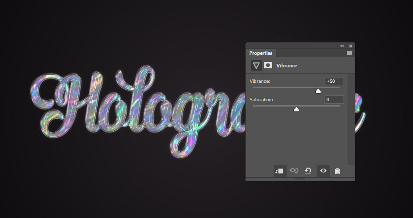 How to Create a Quick Holographic Text Effect in Adobe Photoshop