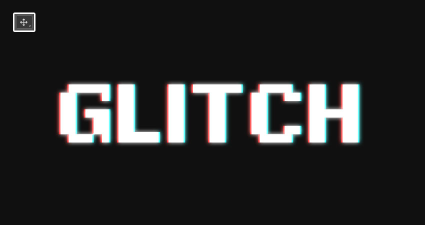 How to Create an Easy Digital Glitch Text Effect in Adobe Photoshop