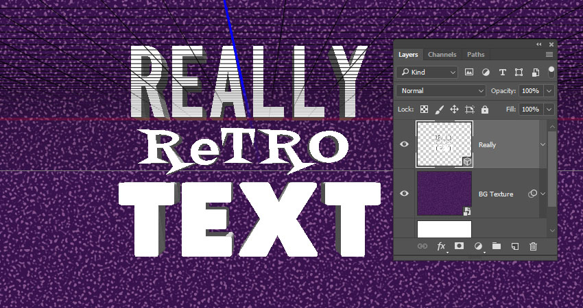 How to Create a Retro 'Saved by the Bell' Inspired Text Effect in Adobe Photoshop