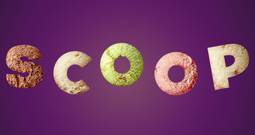 How to Create an Ice-Cream Scoop Text Effect in Adobe Photoshop